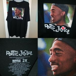 Poetic justice t shirt